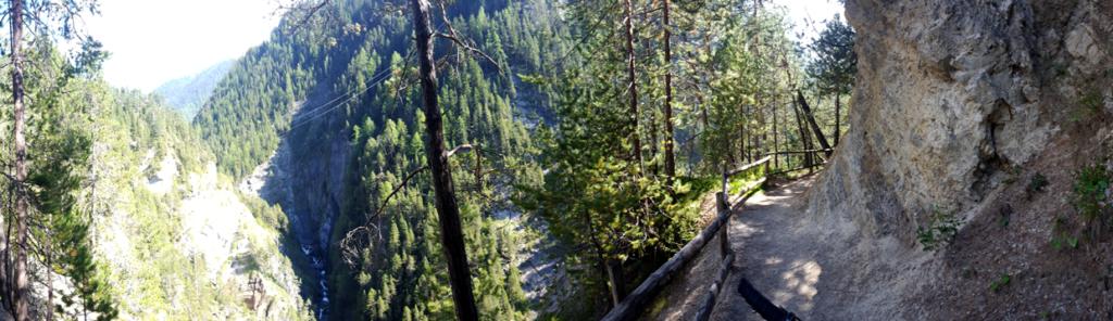 Erweiterung des Epic Trail um einen weitere rasante Abfahrt über die Zügenschlucht.