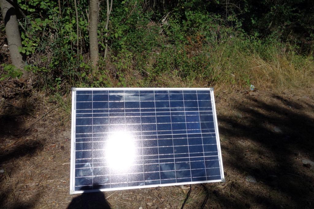 Maximale Flexibilität durch Photovoltaik Modul worüber die zweite Batterie aufgeladen wird.
