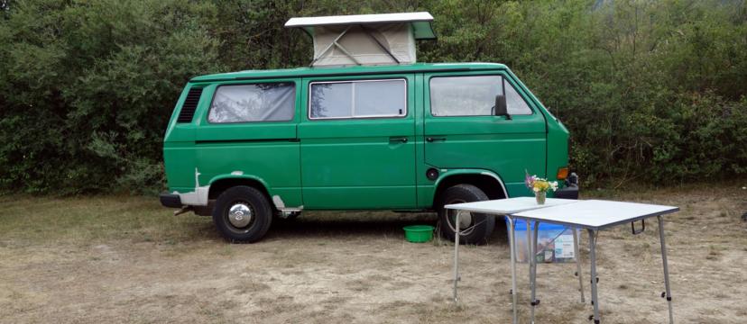 VW T3 als günstiger Campingbus für Schrauber