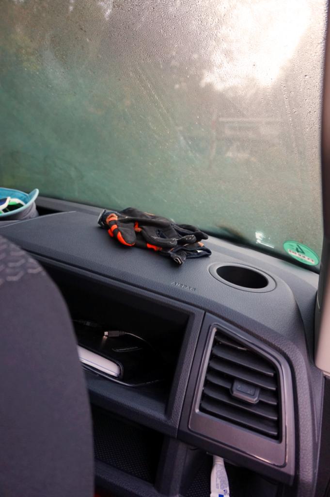 Auch die Getränkehalter sind nicht nur für Fahrer und Beifahrer sondern auch für die Mitfahrer auf der Rücksitzbank.
