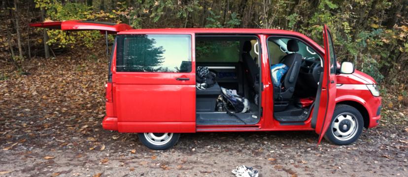 Erfahrungsbericht zur Campingtauglichkeit des VW T6 Multivan.