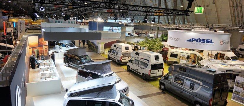 Mobile Campingmöbel auf der CMT in Stuttgart