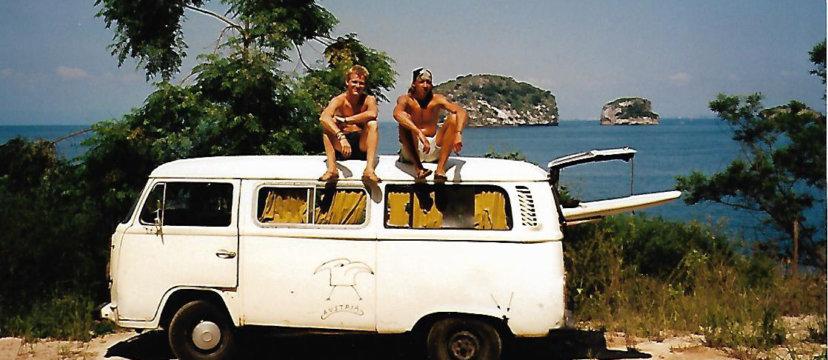 Die ersten Ideen entstanden bereits bei einer Reise durch Südamerika in einem T2.