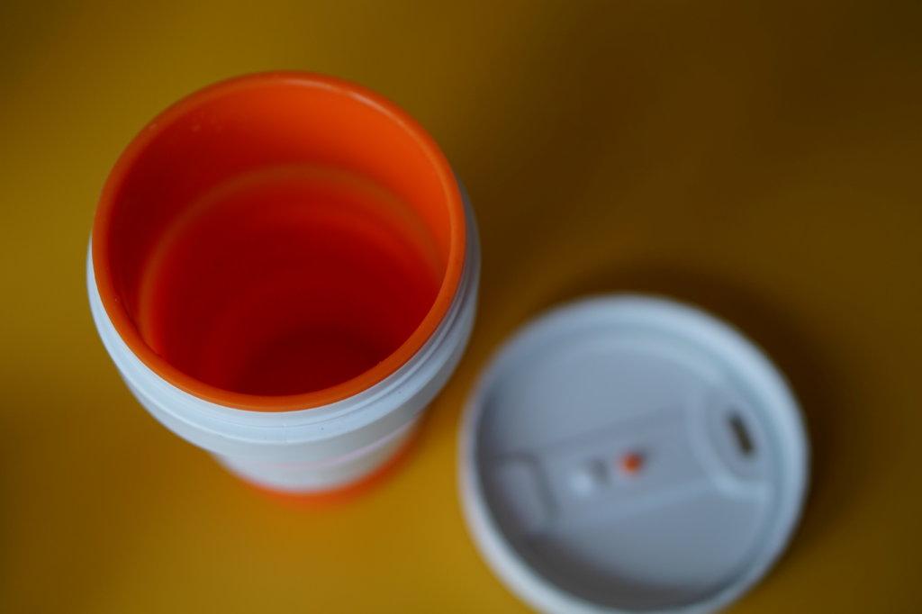 Hoher Trinkkomfort ohne Deckel