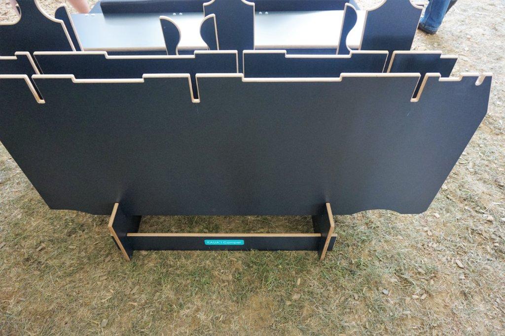 Minimaler Platz für die Lagerung